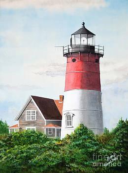 Michelle Wiarda - Nauset Beach Memories Watercolor Painting