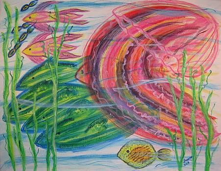 Nautical Rush Hour by Diane Pape