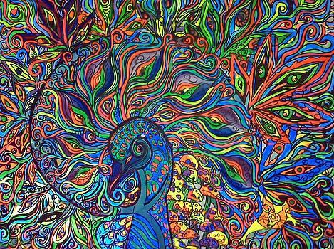 Nautilus Peacock by Lorinda Fore