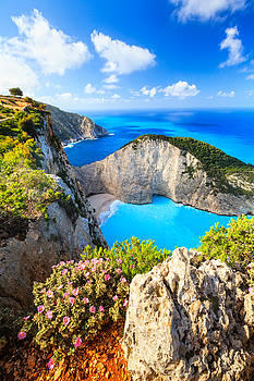 Navagio Bay by Evgeni Dinev