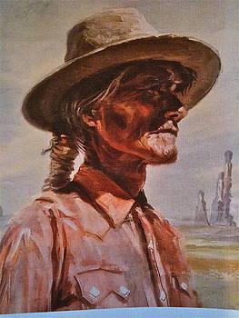 Navajo Elder by Lane Baxter