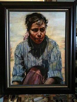 Navajo Maiden by Lane Baxter