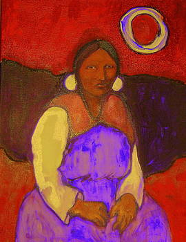 Navajo Moon by Johanna Elik