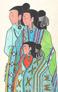 Navajo Trio by Monique Montney
