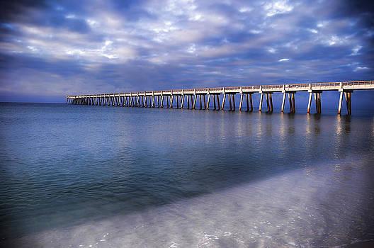 Navarre Beach Pier 2 by Renee Hardison