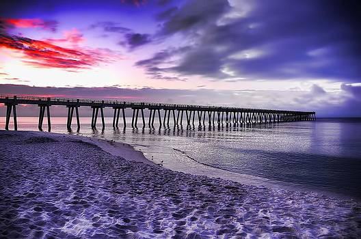 Navarre Beach Pier by Renee Hardison