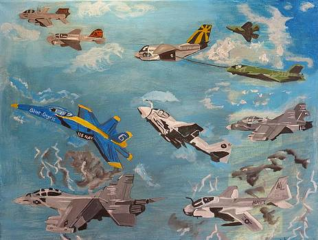 Navy Flyers by Ann Whitfield