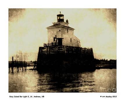 Art  MacKay - Navy Island Bar Lighthouse 2