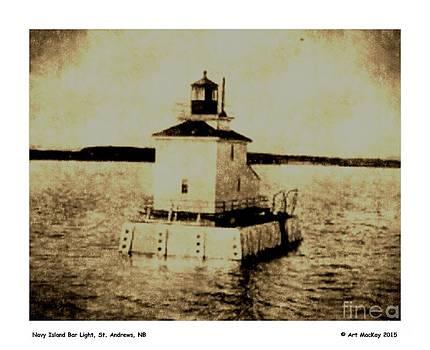 Art  MacKay - Navy Island Bar Lighthouse