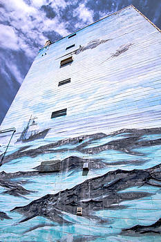 Navy Mural by Laurel Butkins