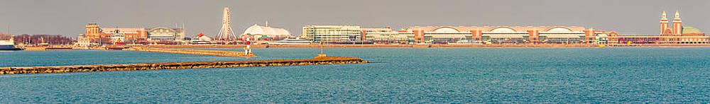 Navy Pier by Cliff C Morris Jr