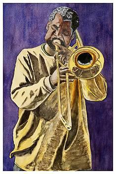 N'awlins Jazzman by Sharon Gerber