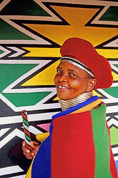 Dennis Cox - Ndebele design