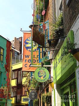 Neales Yard London by Michelle Deyna-Hayward