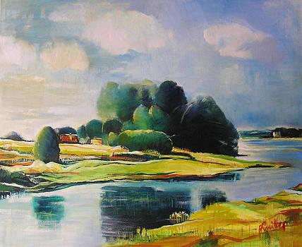 Near the Bug River by Alicja Coe