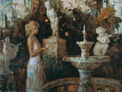 Near the fountain by Kartashov Andrey
