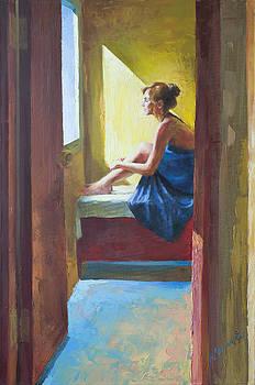Near the window by Misha Lapitskiy