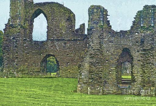 Neath Abbey Wales UK by Skye Ryan-Evans