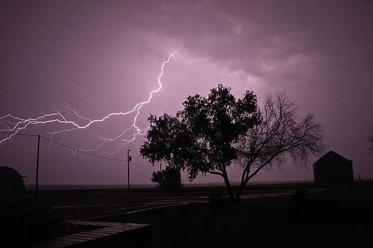Nebraska Lightning by Kelli Chrisman