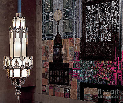 Art Whitton - Nebraska State Capitol Light and Mosaic