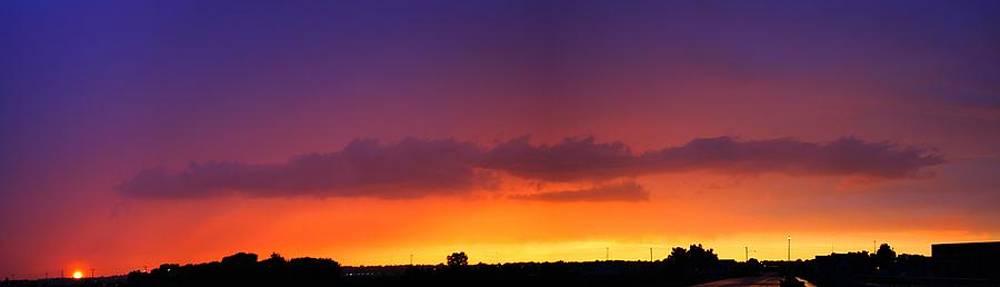 NebraskaSC - Nebraska Thunderstorm Sunset