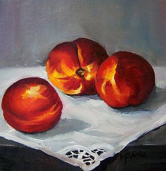 Nectarines of the gods by Maureen Ghetia