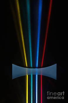 GIPhotoStock - Negative Lens Defocusing Light