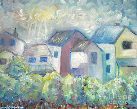 Neighborhood in Light by M C Sturman