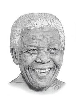 Nelson Mandela by Chris Greenwood