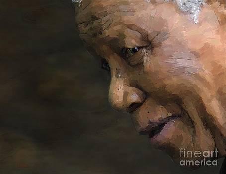Nelson Mandela by Les Allsopp