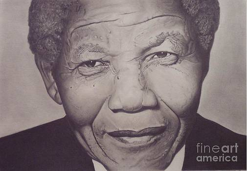 Nelson Mandela by Wil Golden
