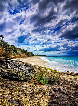 Nelsons Beach by Les Boucher
