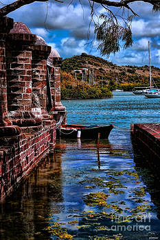 Nelson's Dockyard Antigua by Tom Prendergast