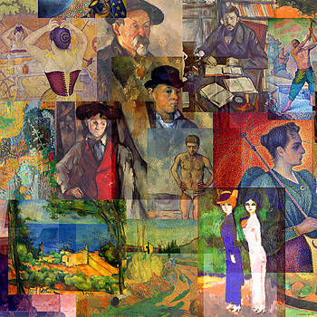 Neo-impressionism 1886 to 1894 by Anders Hingel