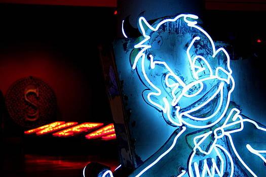 Neon Clown by Mickey Hatt