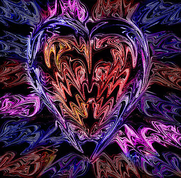 Neon Heart by Anthony Bean