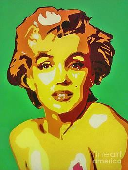 Neon Marilyn Monroe  by Grant  Swinney