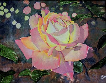Neon Rose by Joyce Sherwin