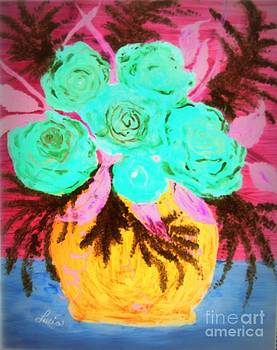 Neon Roses by Lucia Grilletto