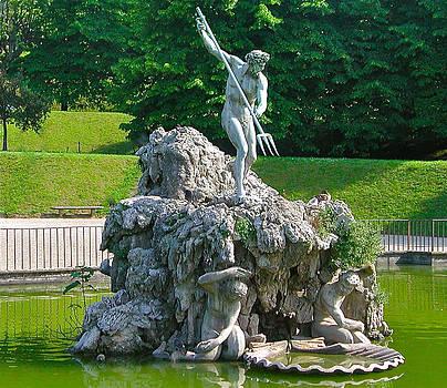 Neptune Fountain by Leslie Brashear