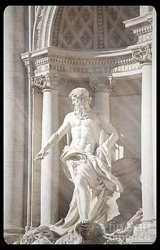 Neptune Statue by Stefano Senise