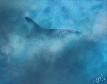 Robin Street-Morris - Nereid or Fin Whale off of Newport Beach