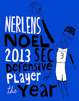 Nerlens Noel - Kentucky Wildcats by Jay Perkins
