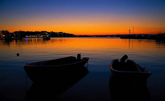 Nesebar silent sunset  by Svetoslav Sokolov