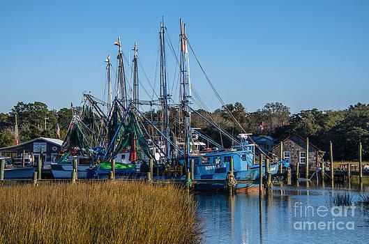 Dale Powell - Net Draped Shrimp Boats