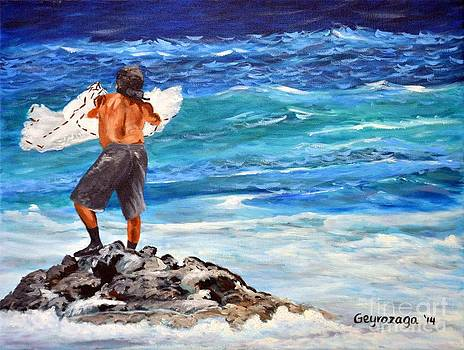 Net Fishing by Larry Geyrozaga