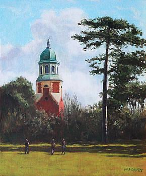 Martin Davey - Netley Hospital Chapel at Weston Shore