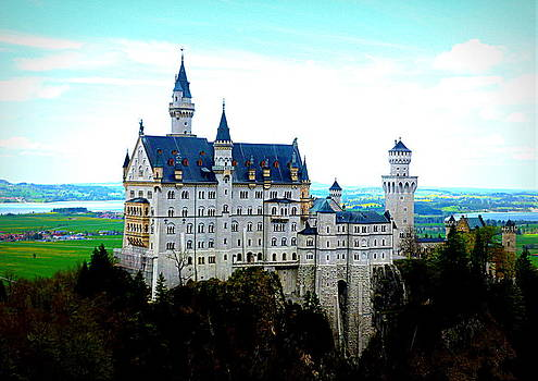 Neuschwanstein Castle  by The Creative Minds Art and Photography