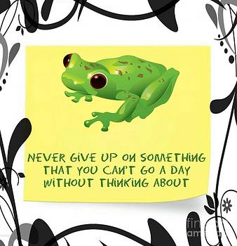 Never Give UP by Daryl Macintyre