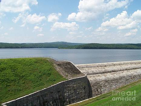 Neversink Reservoir Dam by Kevin Croitz